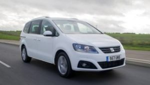 Seat Alhambra: alquiler coches 7 plazas